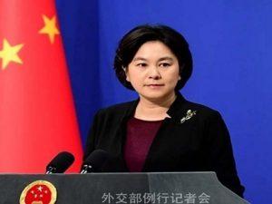 چین کی وزارت خارجہ کے ترجمان لی جیان عا