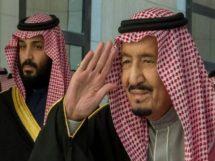 سعودی ولی عہد اور سعودی فرمانرواں شاہ سلمان