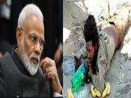معذور نوجوان نے بھارتی وزیر اعظم نریندر مودی کے پول کھول دیئے