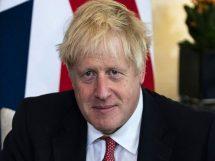 برطانوی وزیر اعظم بورس جانسن