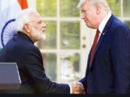 امریکی صدر ڈونلڈ ٹرمپ اور بھارتی وزیر اعظم نریندر مودی