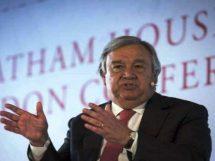 اقوام متحدہ کے سیکرٹری جنرل انتونیو گوتریس