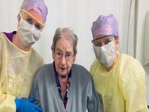 101 سالہ معمر خاتون کوروناوائرس کو شکست دینے میں کا میاب، اسپتال انتظامیہ نے اس خبر کوامید کی کرن قرار دیا