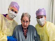 101 سالہ خاتون کورونا وائرس کو شکست دینے میں کامیاب ہو گئی